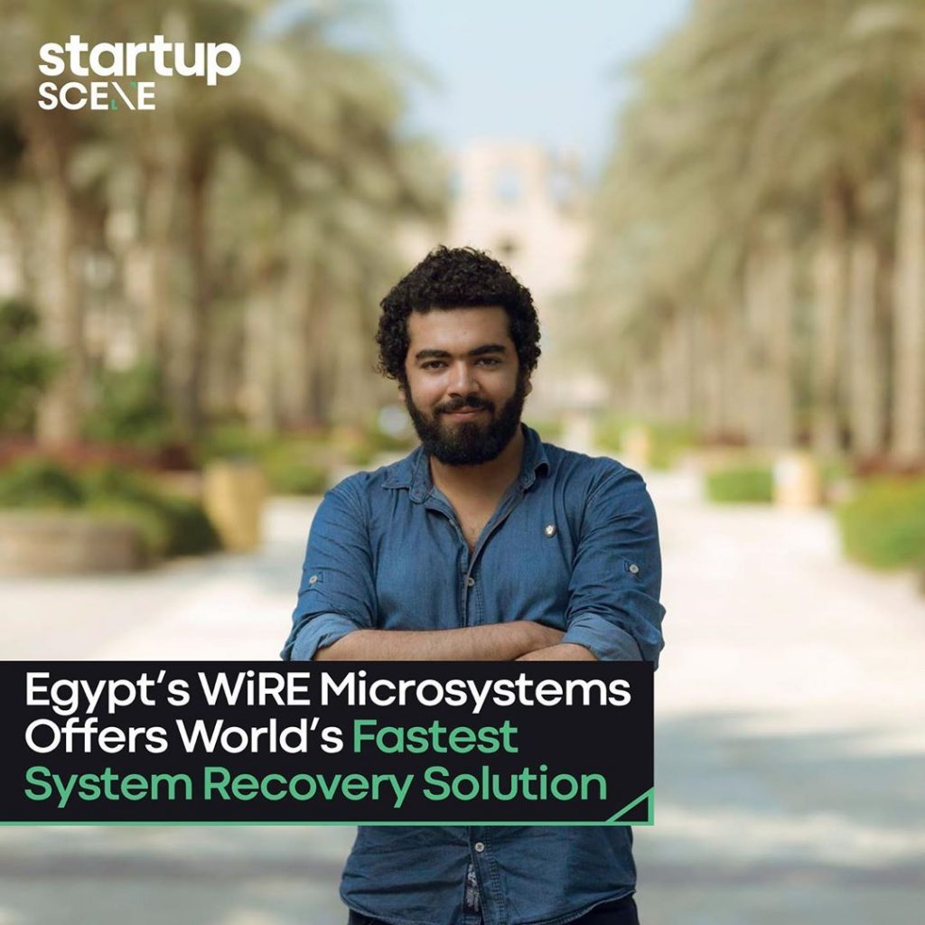 Mahmoud Saad, Founder of WiRE Microsystems, Created XMACHINE.